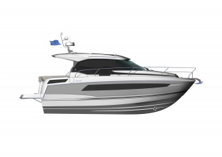 NC 33 │ NC of 11m │ Boat powerboat Jeanneau